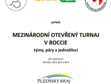 Mezinárodní otevřený turnaj - Plzeň (17-19.11.2017)