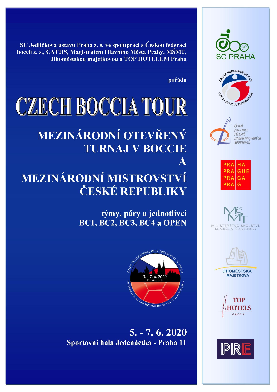 Propozice Mezinárodní boccia a MMČR Praha 2020